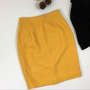 Vintage Ann Taylor wool blend pencil skirt